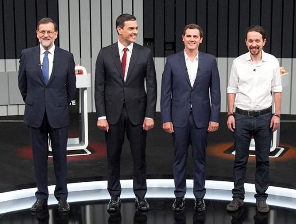 LA IMAGEN DE LOS POLÍTICOS ESPAÑOLES