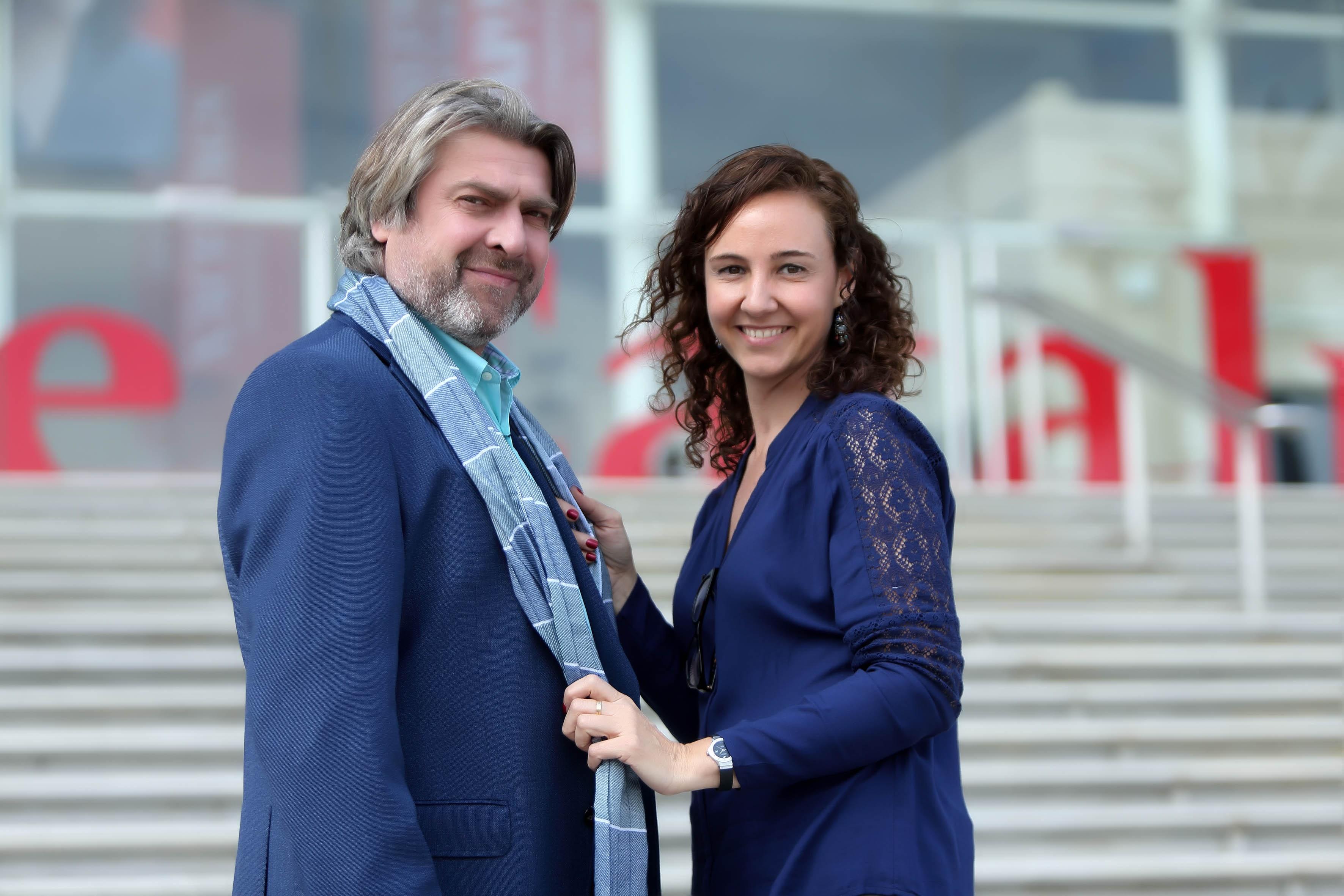 "Wardrobe stylist for Pere Arquillué in ""El Racc"" Magazine"